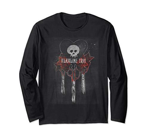 Alkaline Trio- Bouquet - Official Merchandise Long Sleeve T-Shirt