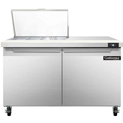 Continental Refrigerator SW48-12M Mighty Top Sandwich Unit, 48