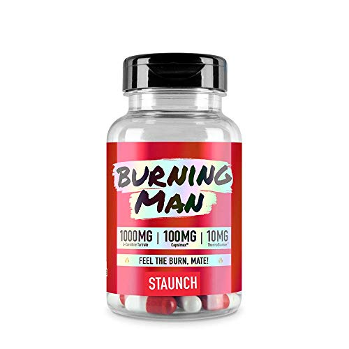 Staunch Burning Man 90 Capsules - Diet Pills, Weight Loss Supplement
