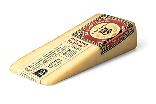 SARTORI RESERVE Bellavitano Black Pepper, 5.3 Ounce