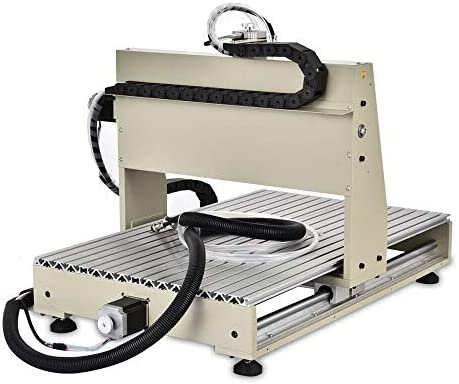 1,5 kW BTdahong CNC 6040 M/áquina de grabado de 4 ejes fresadora VFD conexi/ón paralela grabadora de agua fr/ía