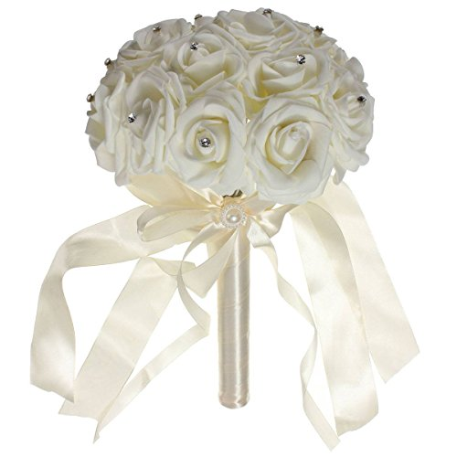 Crystal Diamond Beautiful Wedding Bouquet