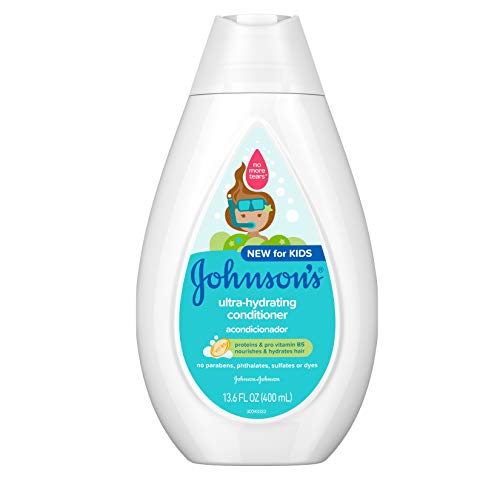 Johnson's Baby Ultra-Hydrating Tear-Free Kids Conditioner with Pro-Vitamin B5, 13.6 fl. oz.