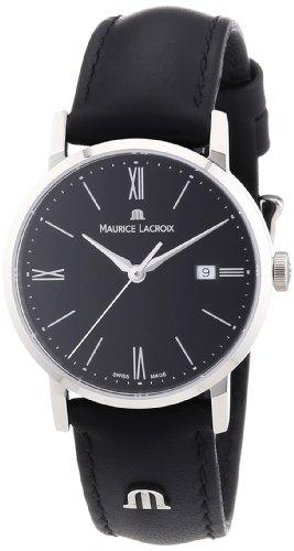 maurice-lacroix-womens-el1084-ss001-310-eliros-analog-display-analog-quartz-black-watch