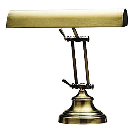 House Of Troy Ap14 41 71 Advent Piano Desk Lamp 14 Antique Brass