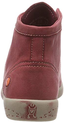 A Softinos Isleen Sneaker Collo Rot Donna Alto 038 scarlet Washed xaOwOqtH