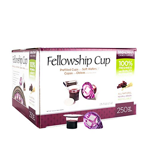 Communion-Set-Fellowship Cup Juice/Wafer-250 Sets