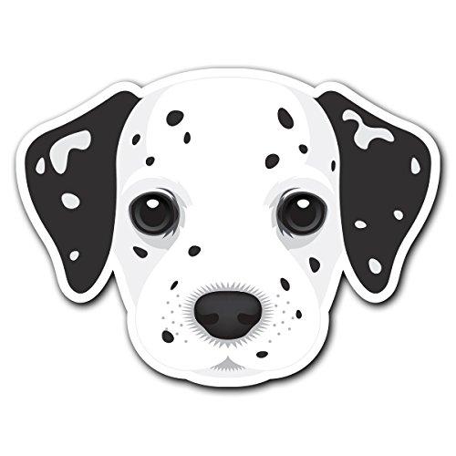 (Dalmatian - [CUSTOMI] Dog Breed Decal Sticker for Car Truck Macbook Laptop Air Pro Vinyl)