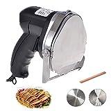 Li Bai Commercial Doner Kebab Electric Gyros Knife Shawarma Machine Gyro Cutter Kebab Meat Slicer with 2 blades