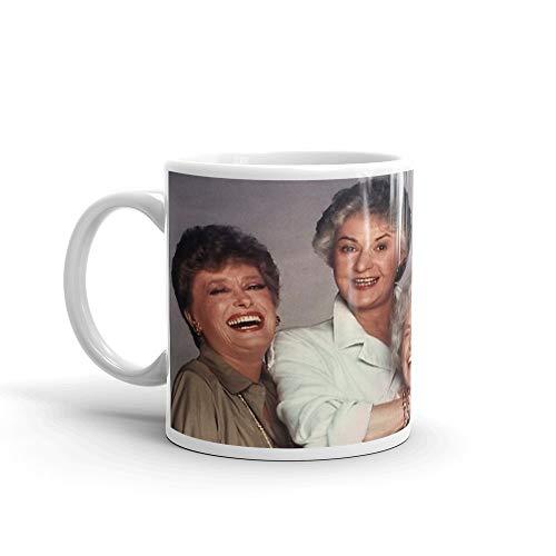 The Golden Girls Mug 11 Oz White Ceramic (The Days And Nights Of Sophia Petrillo)