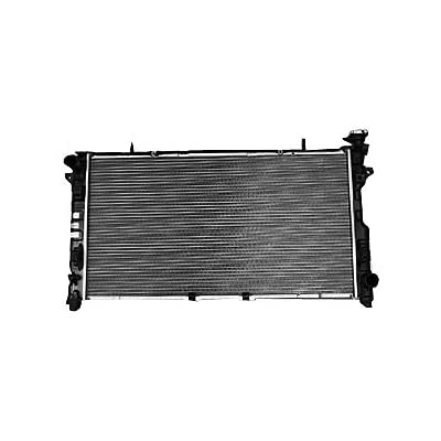 TYC 2795 Compatible with DODGE/Chrysler 1-Row Plastic Aluminum Replacement Radiator: Automotive