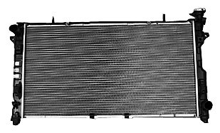 TYC 2795 Dodge/Chrysler 1-Row Plastic Aluminum Replacement Radiator