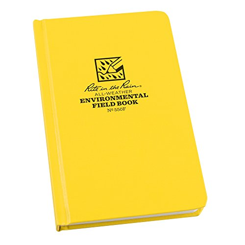 Rite in the Rain All-Weather Hard Cover Notebook, 4 3/4