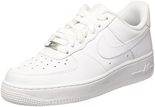 Nike Mens Air Force 1 Low 07 Basketball Shoes White/White 315122-111 Size 7.5 (Jordan 1 Retro)