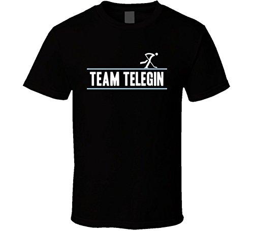 Tshirtshark Ivan Telegin Olympic Athletes From Russia Team Winter Olympic Athlete Ice Hockey Fan T Shirt 2XL Black