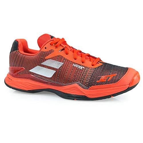Babolat Men's Jet Match II All Court Tennis Shoes (Orange/Black) 10.5 D(M) US