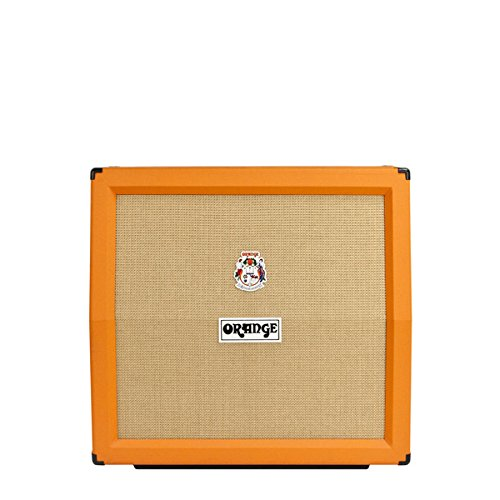 Orange Amplifiers PPC Series PPC412-A 240W 4x12 Guitar Speaker Cabinet Orange Slant by Orange Amplifiers