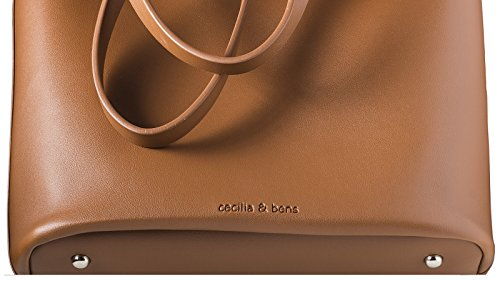 Femme Pour amp;bens Marron Standard Cabas Cecilia qw8RA6w