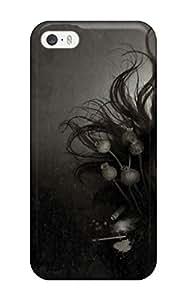 MjwnbJb20906tkvVx Barbara Gorman Zombie Face Dark Women Abstract Dark Durable Iphone 5/5s Tpu Flexible Soft Case