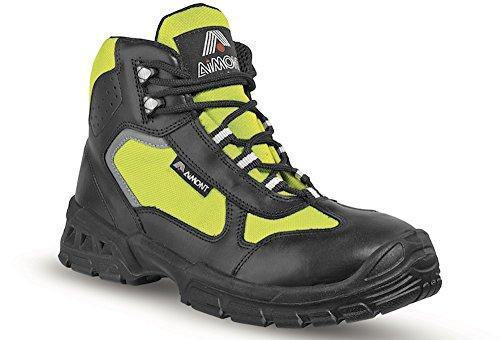 Aimont Angel Sicherheits-Stiefel S3 SRC EN ISO 20345 gelb
