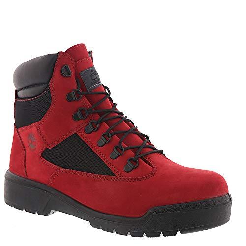 - Timberland Mens 6-Inch Waterproof Field Red Waterbuck Boot - 11