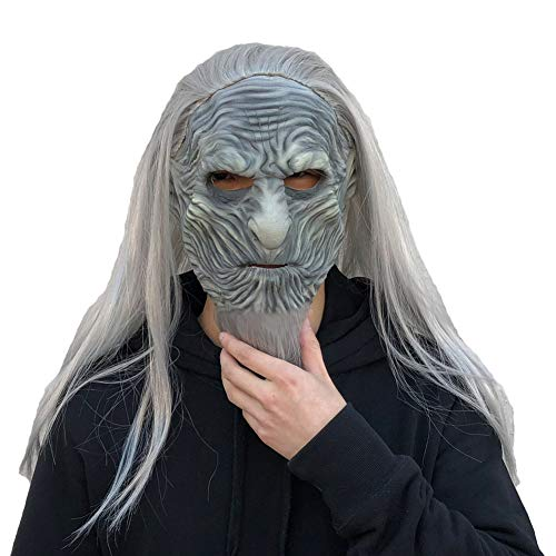 Zombie Walker Costumes - Xmecos White Walkers Mask Cosplay Night