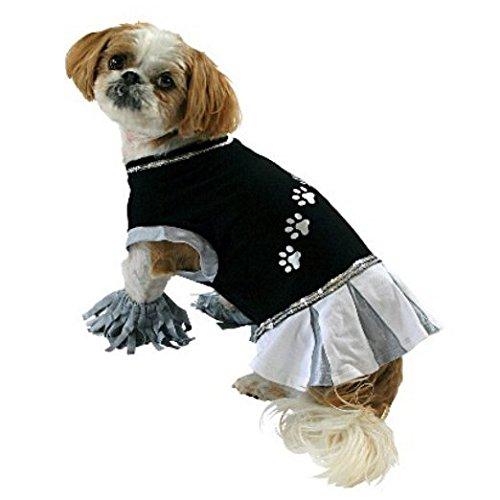 Dog Cheerleader Costumes (Dog Cheerleader Tee; Costume (Large))