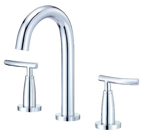 2 Faucet Chrome Bathroom (Danze D304554 Sonora Trim Line Two Handle Widespread Lavatory Faucet, Chrome)