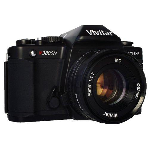 UPC 681066279694, Vivitar SLR Camera - Black (VIV-V3800-50)