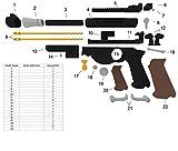 Life Size Screen Accurate Din Djarin Blaster Kit for Mandalorian Cosplay