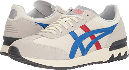 Onitsuka Tiger Asics Unisex California 78 Ex Cream/Classic Blue Men's 6.5, Women's 8 Medium