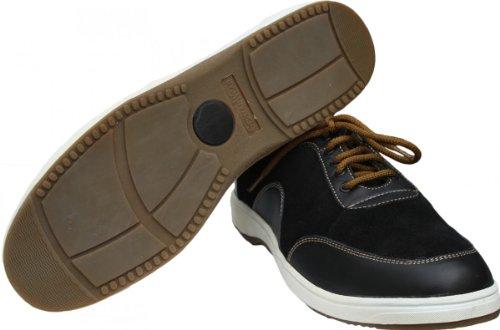 German Wear Sneaker Trainers Suede Black Lederschuhe quality free shipping DE2Xrb