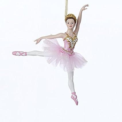 kurt adler 625 inch resin ballerina christmas ornament