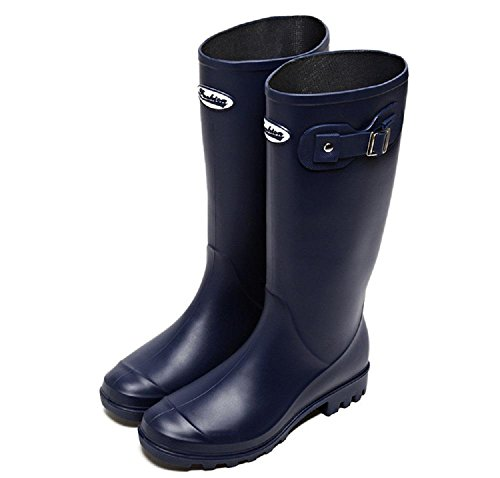 Blue Fashion Martin PVC Spring da stivali pioggia YB1YFqxw