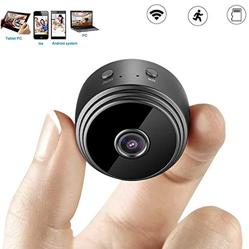 XINCH-MONITOR Mini WiFi IP Camera Hidden HD 1080P Indoor Home Security Cameras/Nanny Cam Built-in Battery with Motion Detection/Night Vision for iPhone/Android Phone/iPad/PC