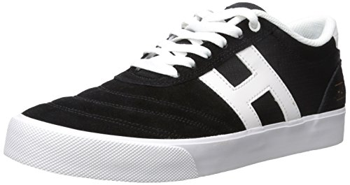 HUF Men's Galaxy Skate Shoe, Black/Ripstop, 11.5 Regular US