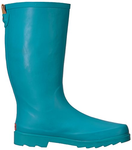 Cheala Womens Boot Da Pioggia Alto Verde Acqua Scuro