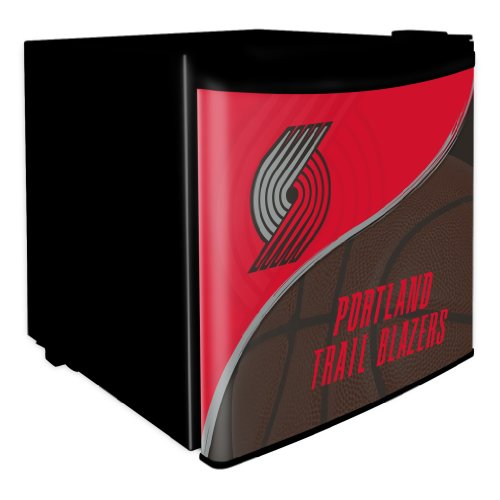 NBA Portland Trail Blazers Dorm Room Fridge, 1.7 Cubic Feet