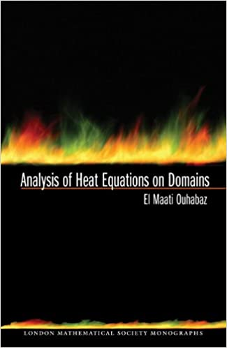 Descargas gratuitas de audiolibros Analysis of Heat Equations on Domains. (LMS-31) (London Mathematical Society Monographs) (Spanish Edition) PDF CHM B002WJM5SW
