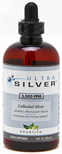 Ultra Silver Colloidal Silver 5000 PPM - 8 Oz