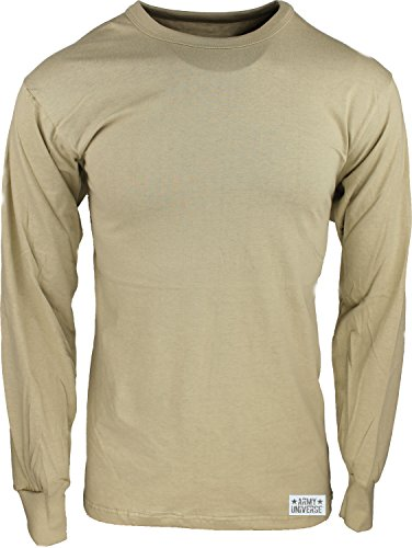 Army Universe Desert Sand Long Sleeve Military T-Shirt with Pin ... 68355e63fd9