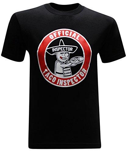 Taco Inspector Funny Mexican Men's T-Shirt