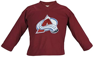NHL Colorado Avalanche Kids Embroidered Logo Mesh Jersey