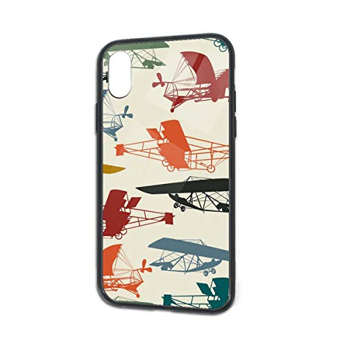Free Vintage Airplane Clipart iPhone X/XS Case 5.8