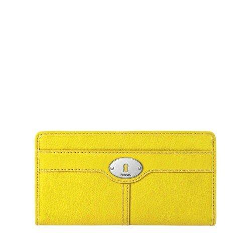 Marlow Zip Clutch Color: CITRUS, Bags Central