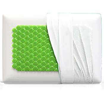 Amazon Com Iso Cool Memory Foam Pillow Gusseted Side