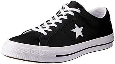 Converse Australia One Star Sneakers, Black/White/White, 6.5 US Women / 4.5 US Men
