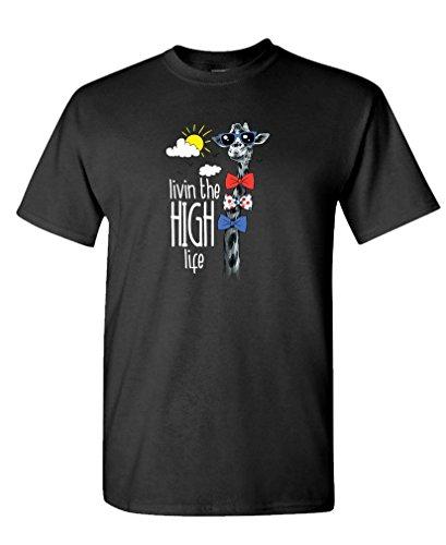 LIVING HIGH LIFE GIRAFFE T Shirt