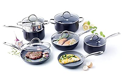 GreenPan 12-Piece Lima 3D I Love Cooking Set from GreenPan