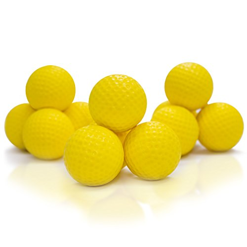 lf Foam Practice Balls (Pack of 12) Dent Resistant, Long Lasting - Perfect For Home and Office. (Tone Golf Ball)